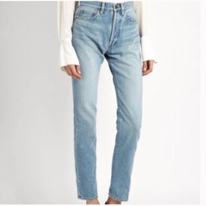 Blank NYC High Rise Tapered Leg Jeans